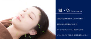 鍼・灸のイメージ
